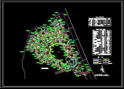 山地住宅总平面图