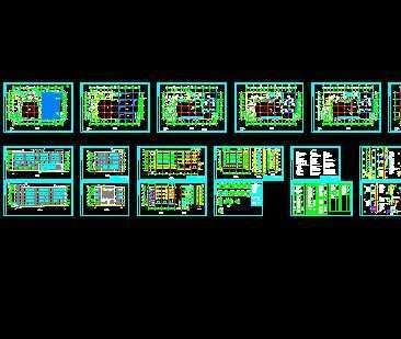 某冷库工程建筑施工图图片