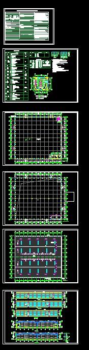 印刷车间厂房69米跨度钢结构厂房设计图