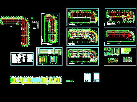 某宿舍楼建筑施工图