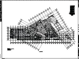 某酒店设计图纸(含建筑结构、计算书)