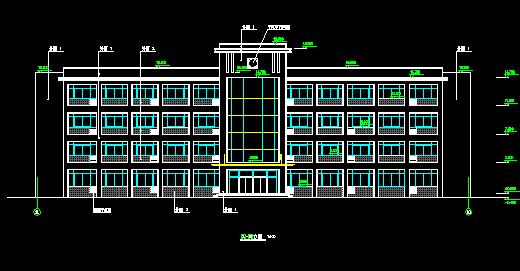 某工厂综合楼建筑施工图纸
