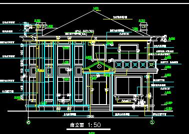 三层独栋别墅设计图免费下载 - 别墅图纸 - 土木工程网