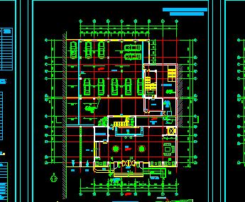 某宾馆建筑设计图纸(含水电图)