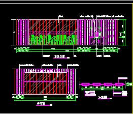 火锅餐饮连锁店建筑设计图