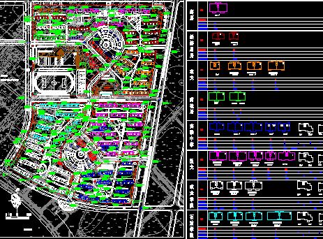 某小区建筑规划设计图