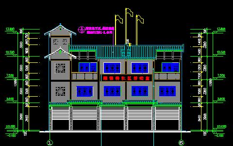 川西民居楼建筑施工图