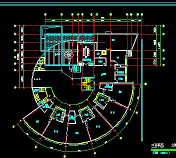 某四层幼儿园建筑设计图纸