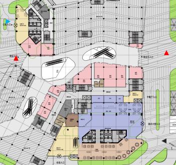 三层酒店建筑设计图纸