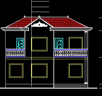 新农村别墅建筑设计图纸