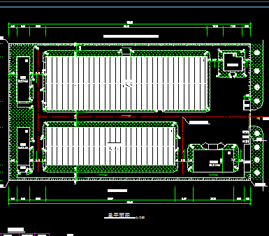 两层厂房建筑设计图纸