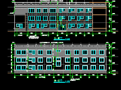 医院病房楼设计图