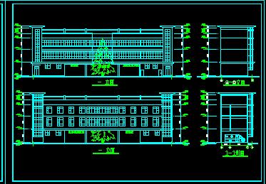 某医院急救中心设计图