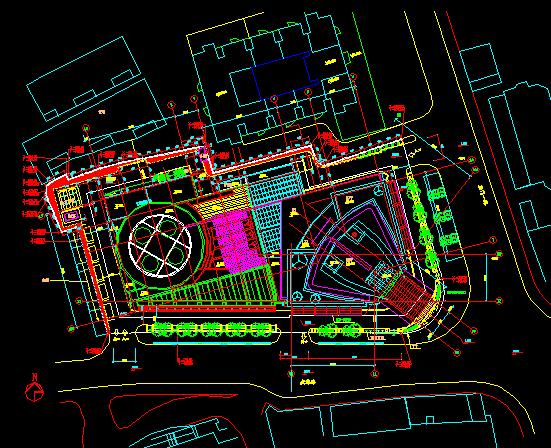 某广场建筑工程、室内装修施工图纸