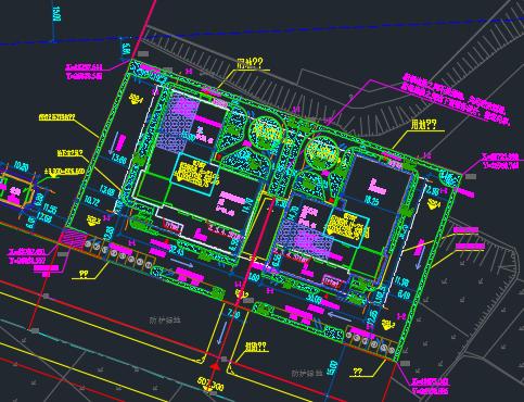 某办公楼全套施工图纸(含建筑结构、水电暖)
