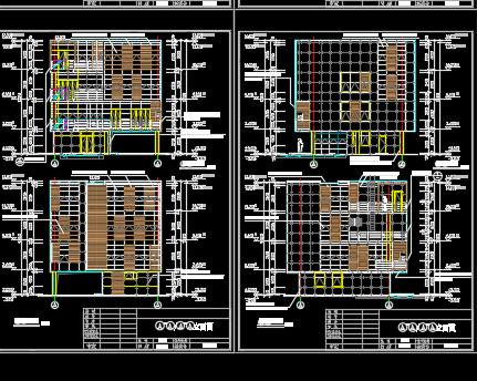 四层别墅建筑施工图纸