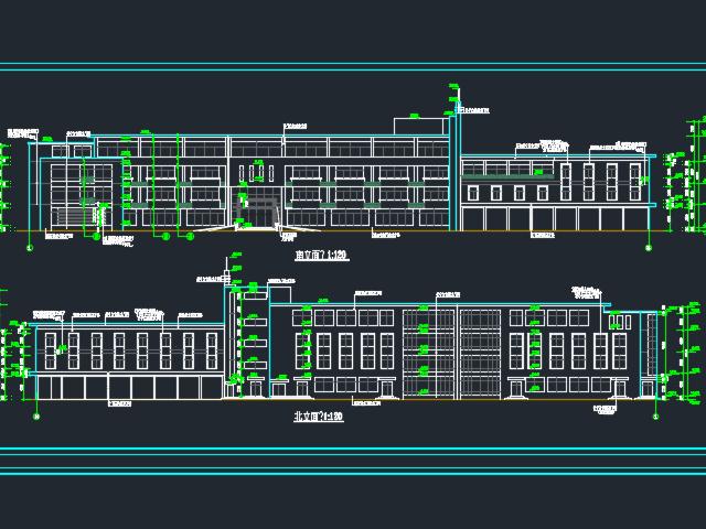 某大型综合楼建筑设计图