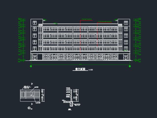 五层综合楼建筑设计图