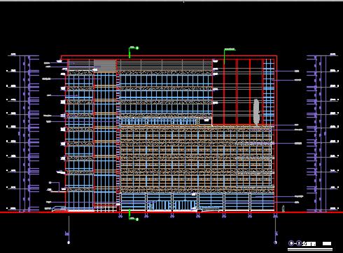 综合业务大楼建筑施工图纸