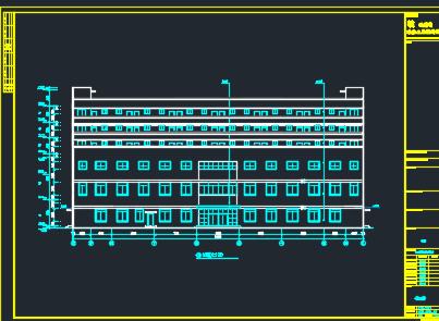 六层综合楼建筑结构施工图纸