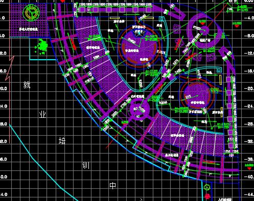广场全套环境施工图纸
