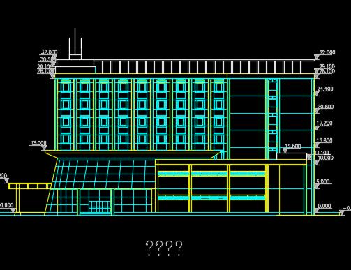 七层宾馆改造工程施工图纸