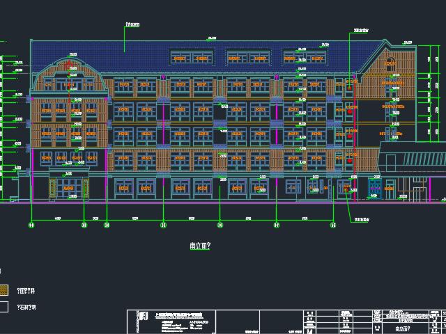 某学校建筑结构全套施工图(含水电暖)