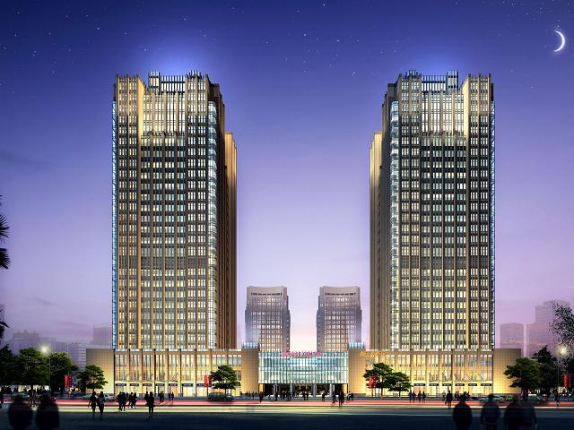 某酒店建筑结构全套施工图(含水电暖)
