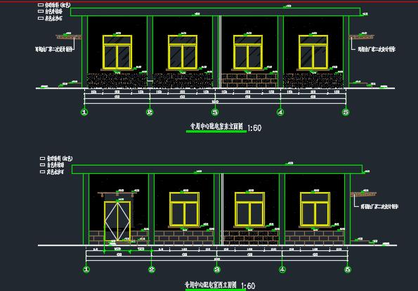 某厂房配电房建筑结构施工图