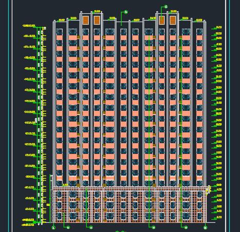 剪力墙结构住宅建筑施工图