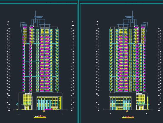 高层商住楼建筑设计图