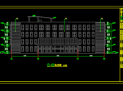 办公楼建筑结构施工图纸