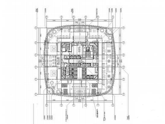 88层大型中央商业中心建筑施工图纸
