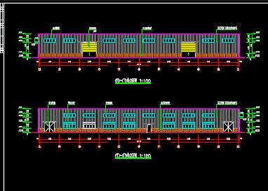 钢结构厂房设计图纸
