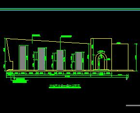 旅游景点管理用房建筑设计图纸