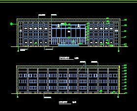 三层框架结构综合楼建筑施工图
