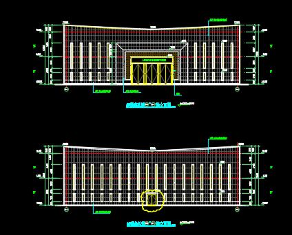 殡仪馆改扩建项目施工图纸(建筑结构、水电暖、景观节能图纸)