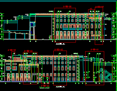 高层假日酒店全套施工图纸(含建筑结构、水暖电、装修)