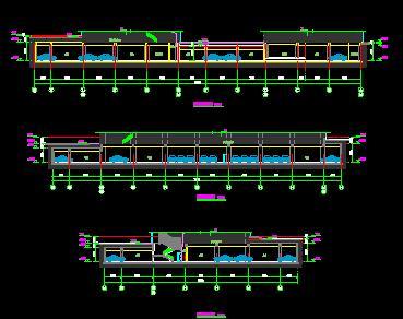 地下车库建筑施工图纸