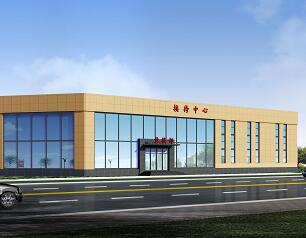二层钢结构售楼处全套施工图纸(含香港六合开奖直播、结构、水电)