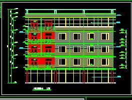 某5层酒店式办公楼建筑施工图纸