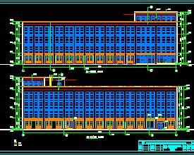 某工业园工业香港六合开奖直播群全套施工图纸(办公楼、厂房、宿舍楼及泵房)