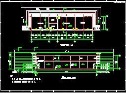 某运动场建筑结构施工图纸
