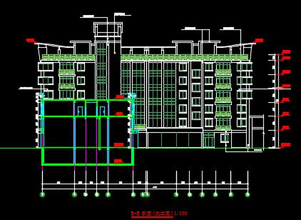 某农贸市场建筑施工图纸