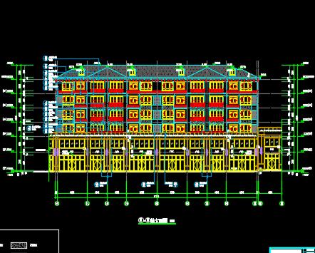某批发市场全套施工图纸(香港六合开奖直播结构、水电、勘探报告)