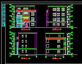 4层农村自建住宅楼建筑施工图纸