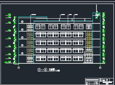 五层综合楼建筑施工图纸