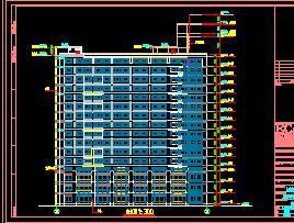 某医院15层框剪结构住院楼建筑施工图纸
