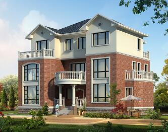 三层框架独栋别墅建筑结构施工图纸