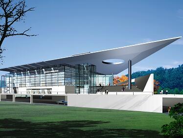 四层体育馆全套v全套图纸(建筑结构格式)免费下图纸转换器水电图片